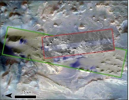 Figure 3 :Taille d'une image CaSSIS
