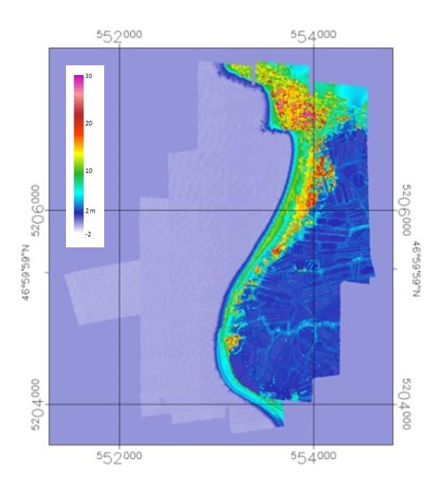MNS LIDAR Moirmoutier 1 2013